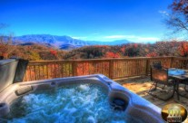 Magnificent view from the hot tub